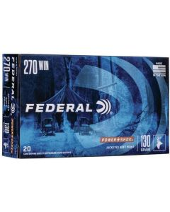 Federal Power Shok .270 Winchester Soft Point 130gr (20 Rounds)