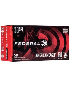 Federal American Eagle .38 Special Lead Round Nose 158gr (50 Rounds)