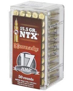 Hornady Varmint Express 17HMR 15.5gr NTX (50 Rounds)