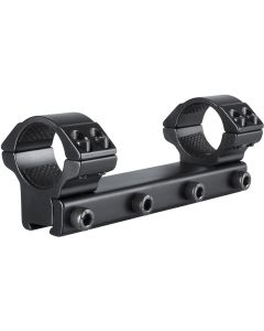 "Hawke 1"" Medium Match Mounts 1 Piece"