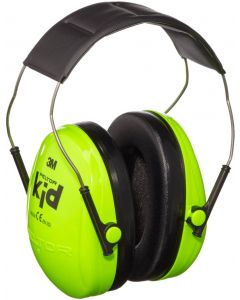 3M Peltor Kids Ear Defenders Green