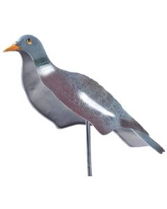 East Anglian Head Up Pigeon Decoy Half Shell