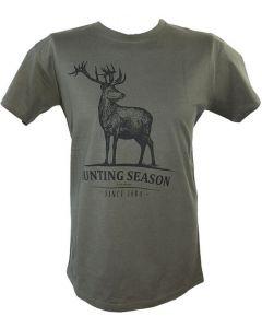AKAH Stag T-Shirt Green
