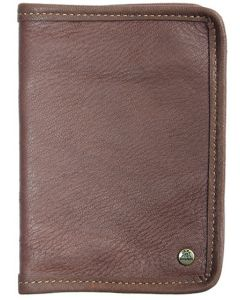 Akah Moose & Bison Leather Certificate Wallet