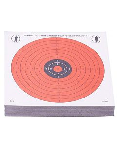 Bisley Day-Glo R19 Targets Grade 1 (Pack of 50)