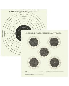 Bisley Double Sided Targets Grade 1 (Pack of 50)