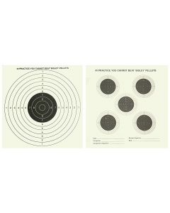 Bisley Double Sided Targets Grade 1 (Pack of 25)