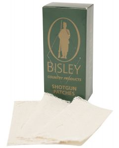 Bisley Shotgun Cleaning Patches (Pack of 25)