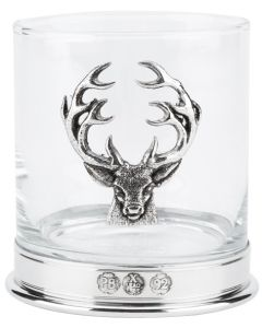 Bisley English Pewter Whisky Glass in Presentation Box