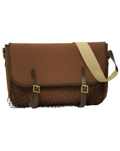 Bisley Brown Canvas Game Bag with Outside Net