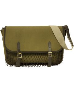Bisley Canvas Game Bag With Net Green