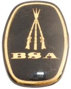 BSA Centenary Stock Grip Badge