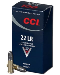 CCI 22lr Standard Velocity Lead Round Nose 40gr (50 Rounds)