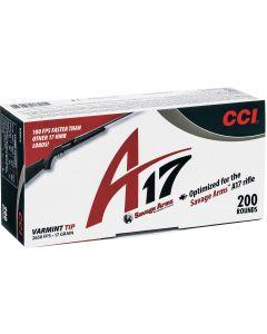 CCI A17 .17HMR Varmint Ballistic Tip 17gr (200 Rounds)