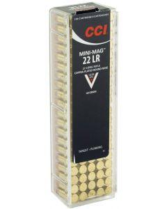 CCI 22lr Mini Mag Solid Copper Round Nose 40gr (100 Rounds)