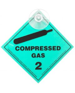 Compressed Gas Label (Sucker)