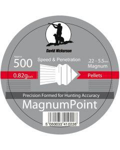 David Nickerson Magnum Point Pellets .22 (500 Pellets)