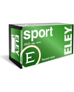Eley Sport .22LR Round Nose 40gr (50 Rounds)
