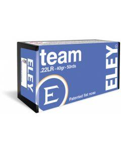 Eley Team .22LR Flat Nose 40gr (50 Rounds)