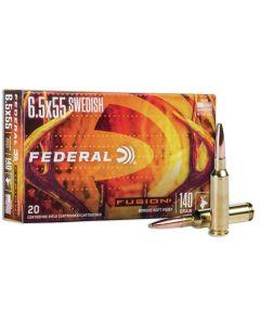 Federal Fusion 6.5x55 Soft Point 140gr (20 Rounds)