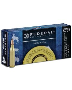 Federal Power Shok .243 Winchester 100gr (20 Rounds)