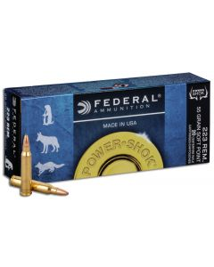 Federal Power Shok .223 Soft Point 55gr (20 Rounds)