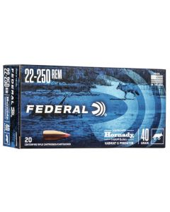 Federal .22-250 V-Max 40gr (20 Rounds)