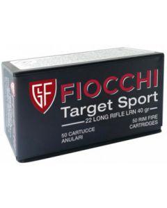 Fiocchi Target Sport .22LR LRN 40gr (50 Rounds)