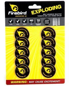 Firebird Sniper Fire 40 Reactive Targets