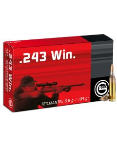 Geco .243 Winchester Soft Point 105gr (20 Rounds)