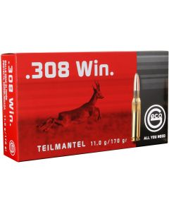 Geco .308 Winchester Soft Point 170gr (20 Rounds)
