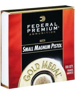 Federal Gold Medal Match Small Magnum Pistol Primers (Box of 100)