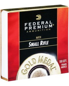 Federal Gold Medal Match Small Rifle Primers (Box of 100)