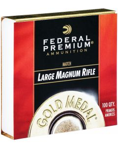 Federal Gold Medal Match Primers Large Magnum Rifle (Box of 100)