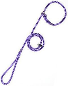 8mm Rope Slip Lead 8mm - Violet