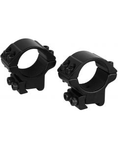 "Hawke 1"" Match Scope Mounts 2 Piece 9-11mm - Low"