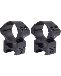 Hawke 30mm Match Scope Mounts 2 Piece Weaver High