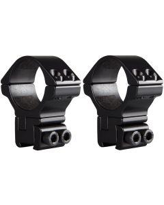 Hawke Adjustable Ring Mounts 30mm High 9-11mm