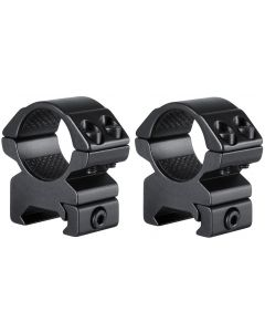 "Hawke 1"" Match Scope Mounts 2 Piece Weaver Medium"