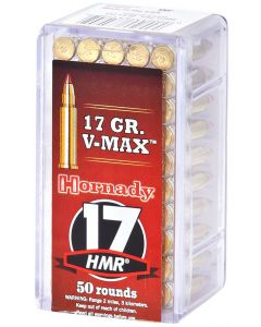 Hornady Varmint Express 17HMR 17gr V-Max (50 Rounds)