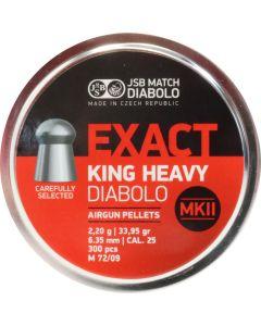 JSB Exact King Heavy Diabolo Pellets