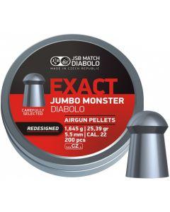 JSB Exact Jumbo Monster .22 Redesigned (200 Pellets)