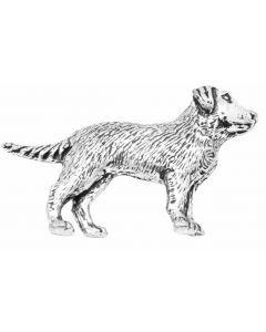 Labrador Pewter Brooch