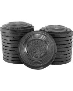 Black Midi Clays (150)