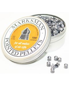 Marksman Pointed Air Rifle Pellets .22 (500 Pellets)