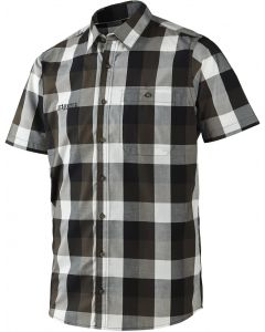 Harkila Linus short Sleeve Shirt Hunting Green Check