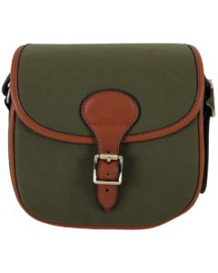 Maremmano Canvas & Leather Cartridge Bag (75 Cartridges)
