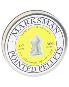 Marksman Pointed .177 Pellets Part No. MMP177