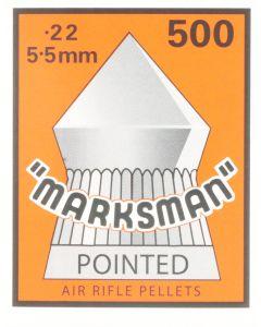 Marksman Pointed Air Rifle Pellets .22 (500 Pellets)