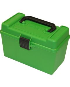 MTM H50-RL Deluxe Ammo Box With Handle - Green